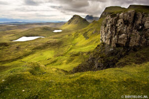 The Quiraing, Isle of Skye, Schotland