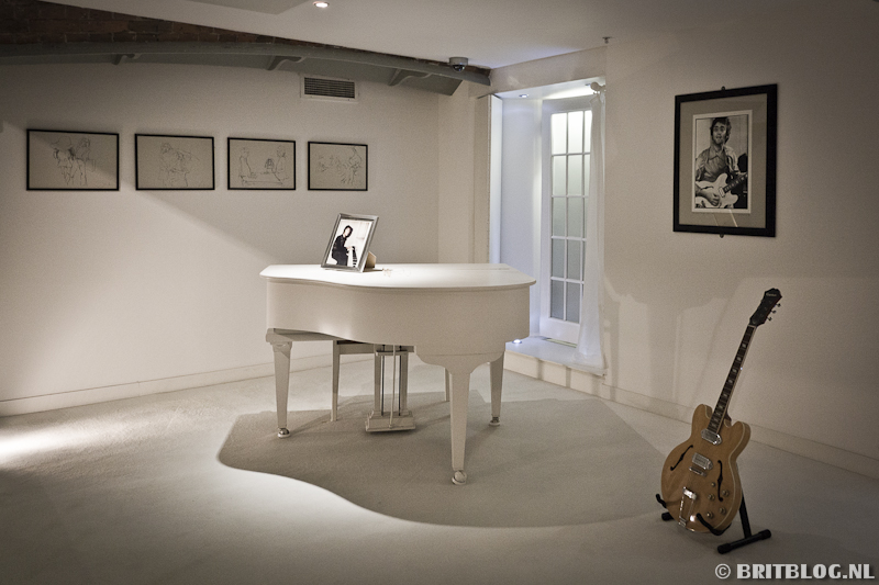 The Beatles Story: John Lennon piano