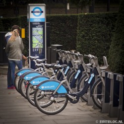 Londen: Cycle hire
