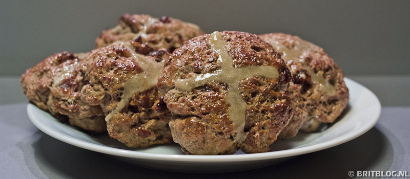 Recept hot cross buns