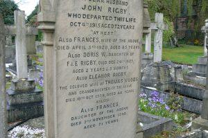 graf van Eleanor Rigby