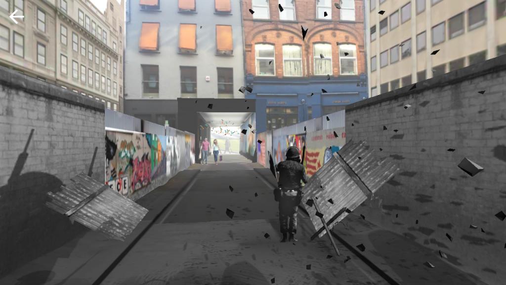 The Belfast Go Explore app