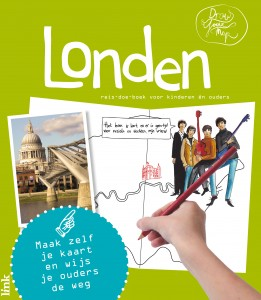 DrawYourMap Londen cover