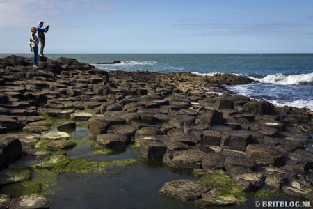 Wandelroute Ulster Way: Giant's Causeway