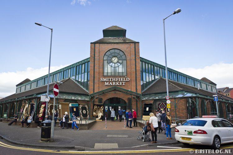 Smithfield Market Belfast