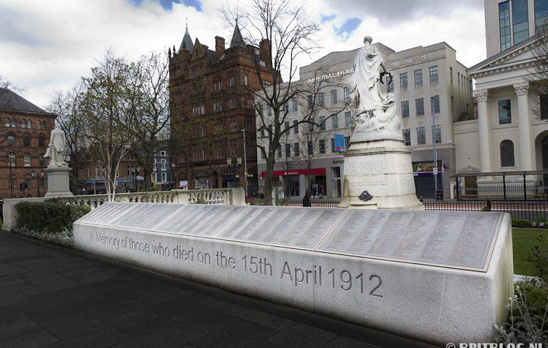 Belfast City Hall Titanic Memorial Garden
