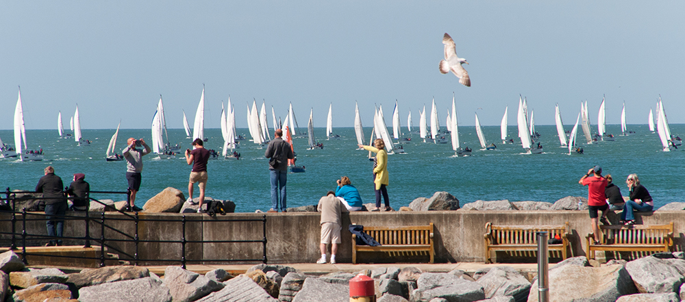 Watching Sailing from Ventnor Harbour