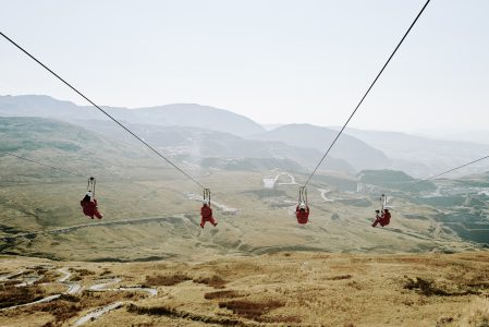 Zip World Titan, Blaenau Ffestiniog - credit Lonely Planet & VisitWales