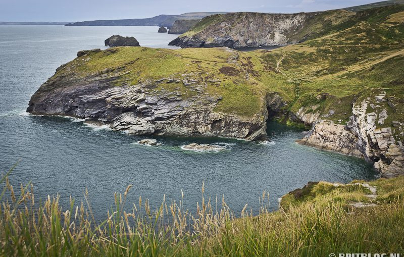Tintagel Castle, South West Coast Path, Engeland