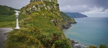 The Valley of Rocks, South West Coast Path