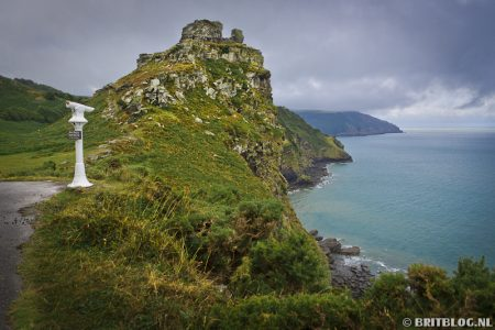 The Valley of Rocks, South West Coast Path. Wandelen in Engeland