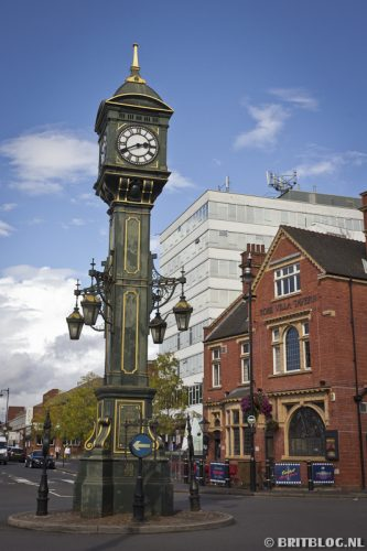 Birmingham Jewelry Quarter Chamberlain Clock