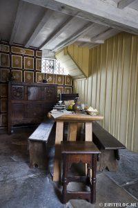De hal van Shakespeare's geboortehuis
