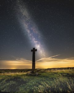 Dark Skies Fest - Milky Way above Young Ralph's Cross © Steve Bell