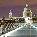 St Paul's Cathedral vanaf Millenium Bridge