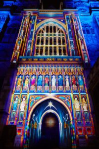 The Light of the Spirit, Patrice Warrener, Lumiere London 2016. Photo by Matthew Andrews.