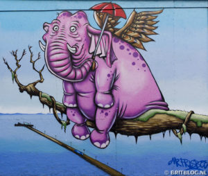 graffiti in Southend-on-Sea