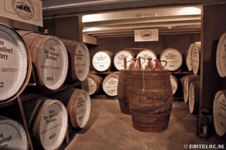 Schotse whisky barrels