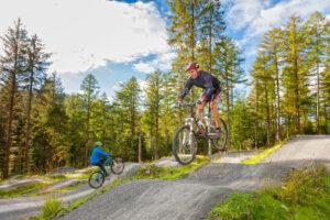 Mountain Biking Coed y Brenin Snowdonia Gwynedd