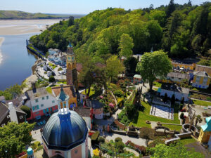 Portmeirion dome and piazza