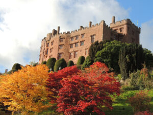 Powis Castle in Mid Wales