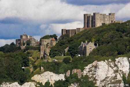 Dover Castle, het eindpunt van de wandeltocht North Downs Way