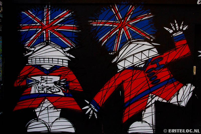 graffiti, Londen