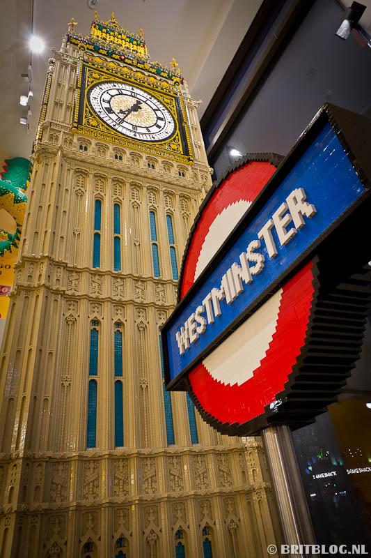 Elizabeth Tower van Lego