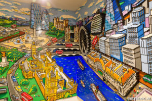 Londen city in Lego Store
