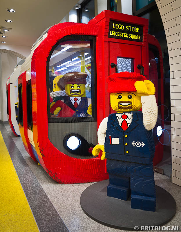 Tube in Lego Store