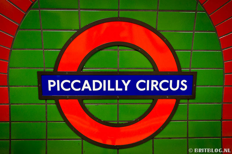 Piccadilly Circus, Londen
