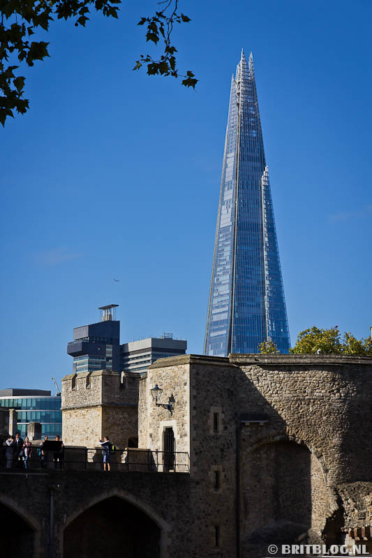 Tower of London en The Shard