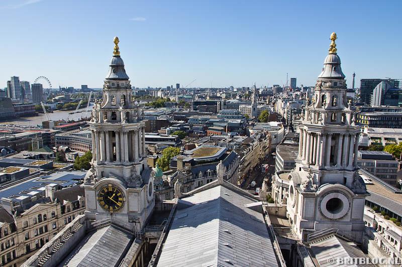 Uitzicht vanaf St Paul's kathedraal