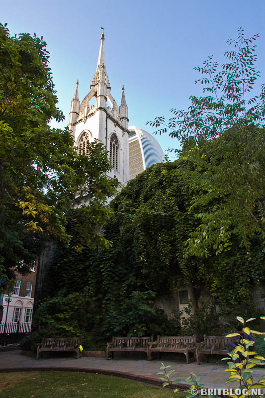 St. Dunstan in the East Londen