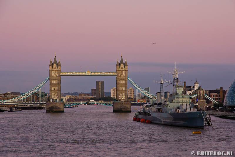 Tower Bridge en HMS Belfast