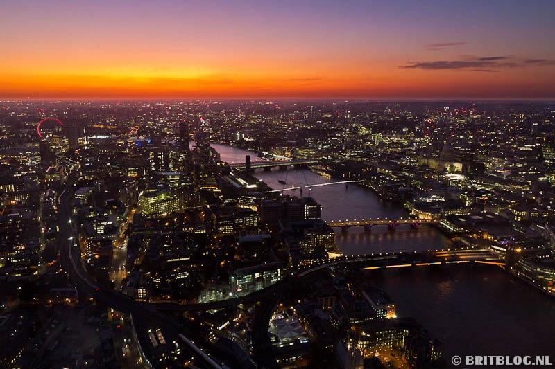 Uitzicht The Shard, Londen