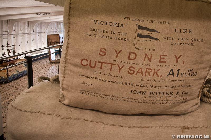 Cutty Sark, Londen blog