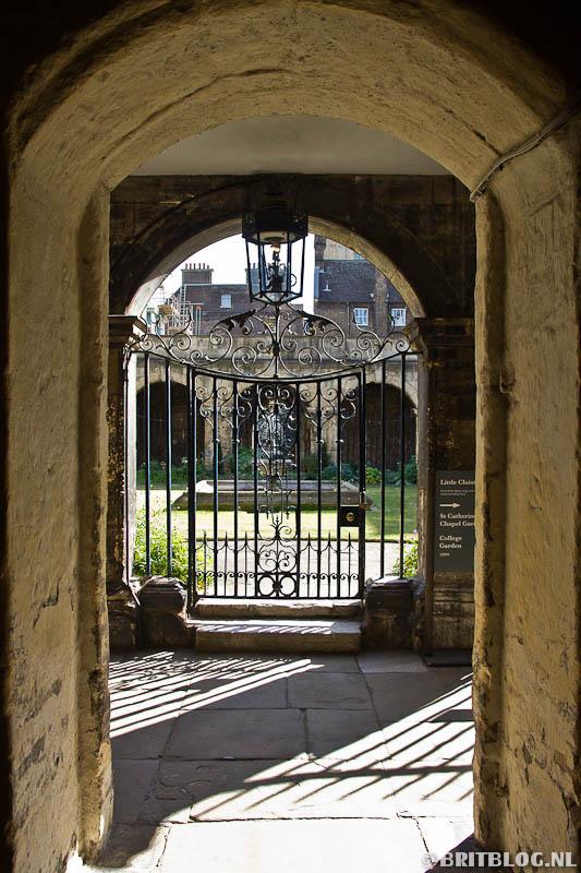 Westminster Abbey garden