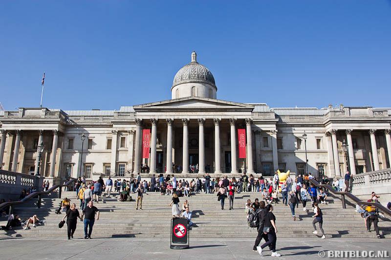 National Gallery, Trafalgar Square Londen