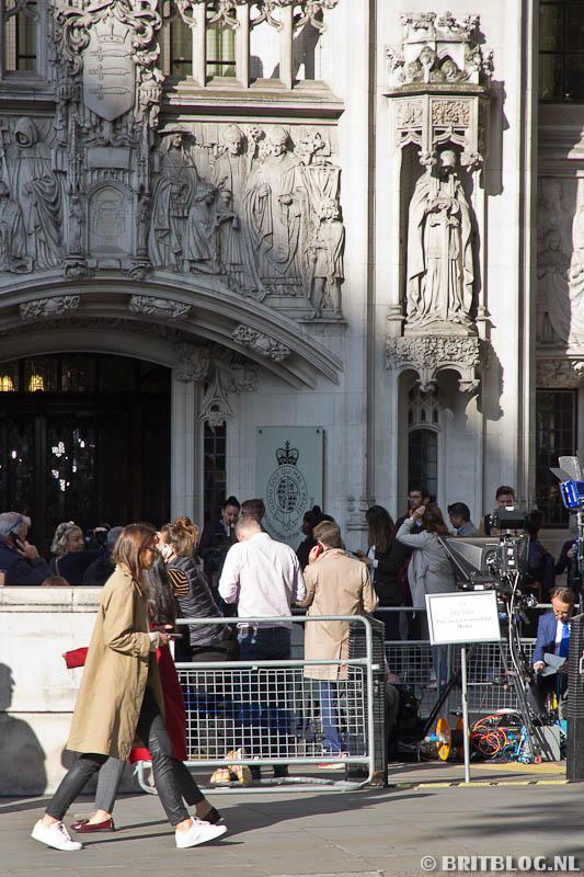 Brexit in de rechtzaal