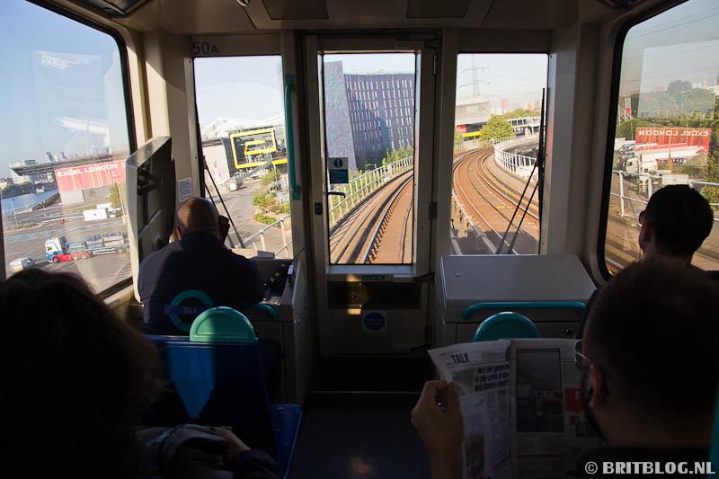 DLR, Transport Londen