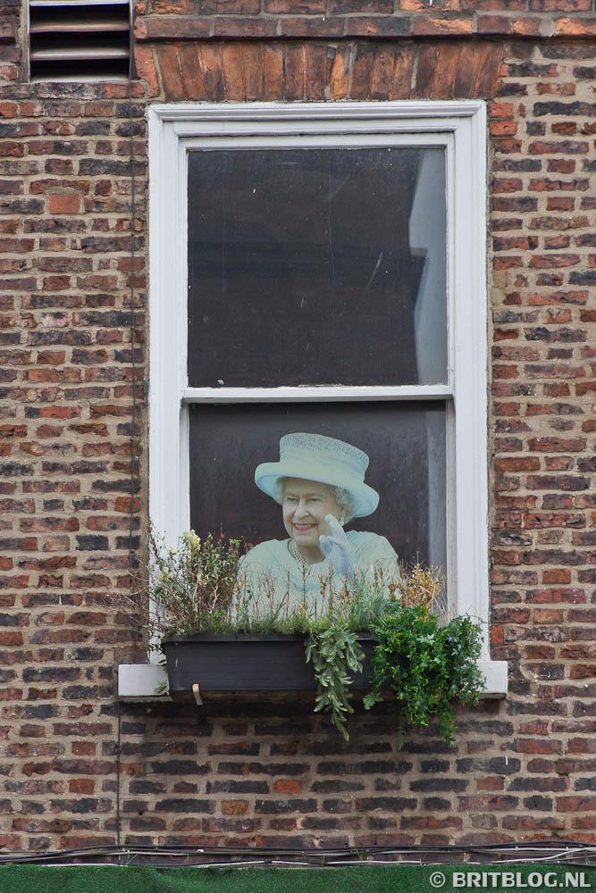 Queen Elizabeth in York