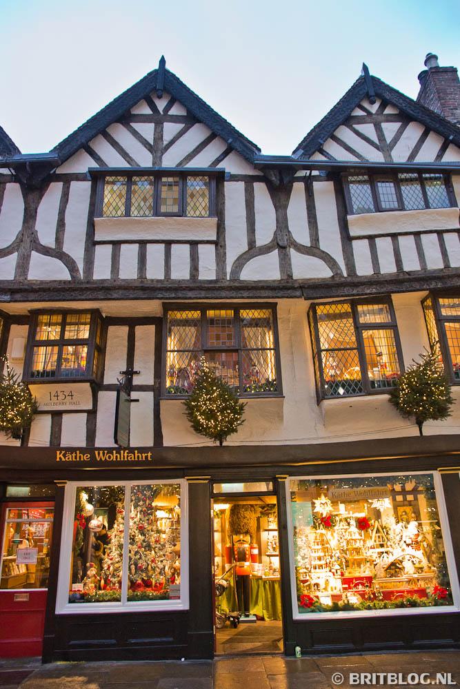 kerstwinkel in York