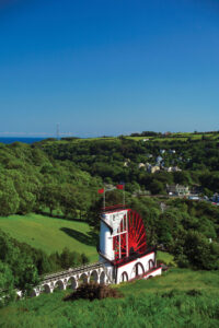 Laxey Wheel, Story of Mann - Lily