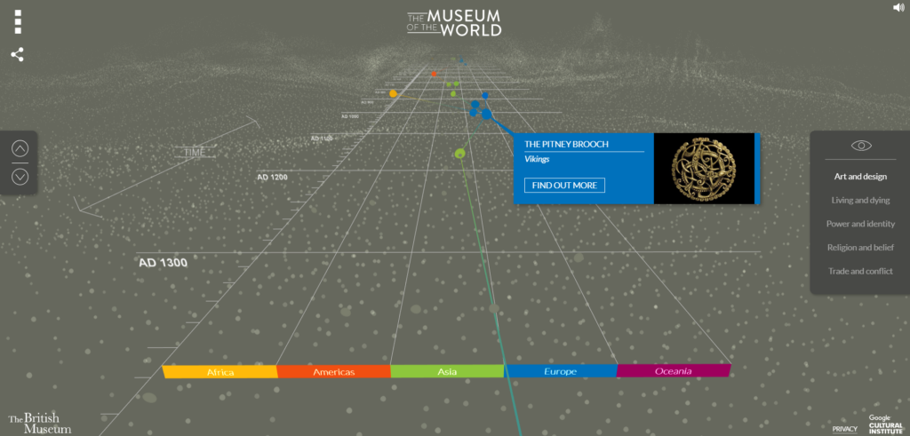 Museum of the World - British Museum - online sightseeing