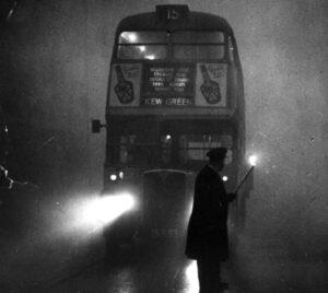 De grote smog van Londen 1952