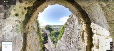 Carisbrooke Castle, Google Maps