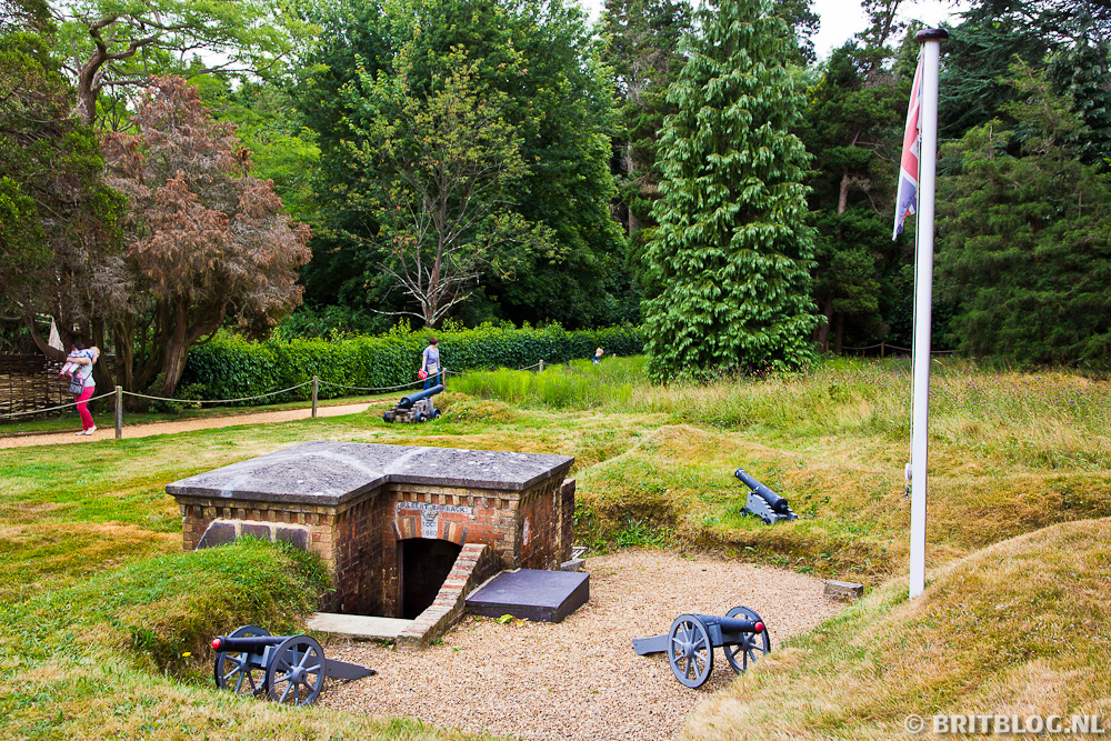 Albert's bunker - Osborne House