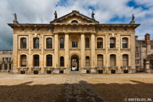 Bodleian Library, Oxford wandelroute