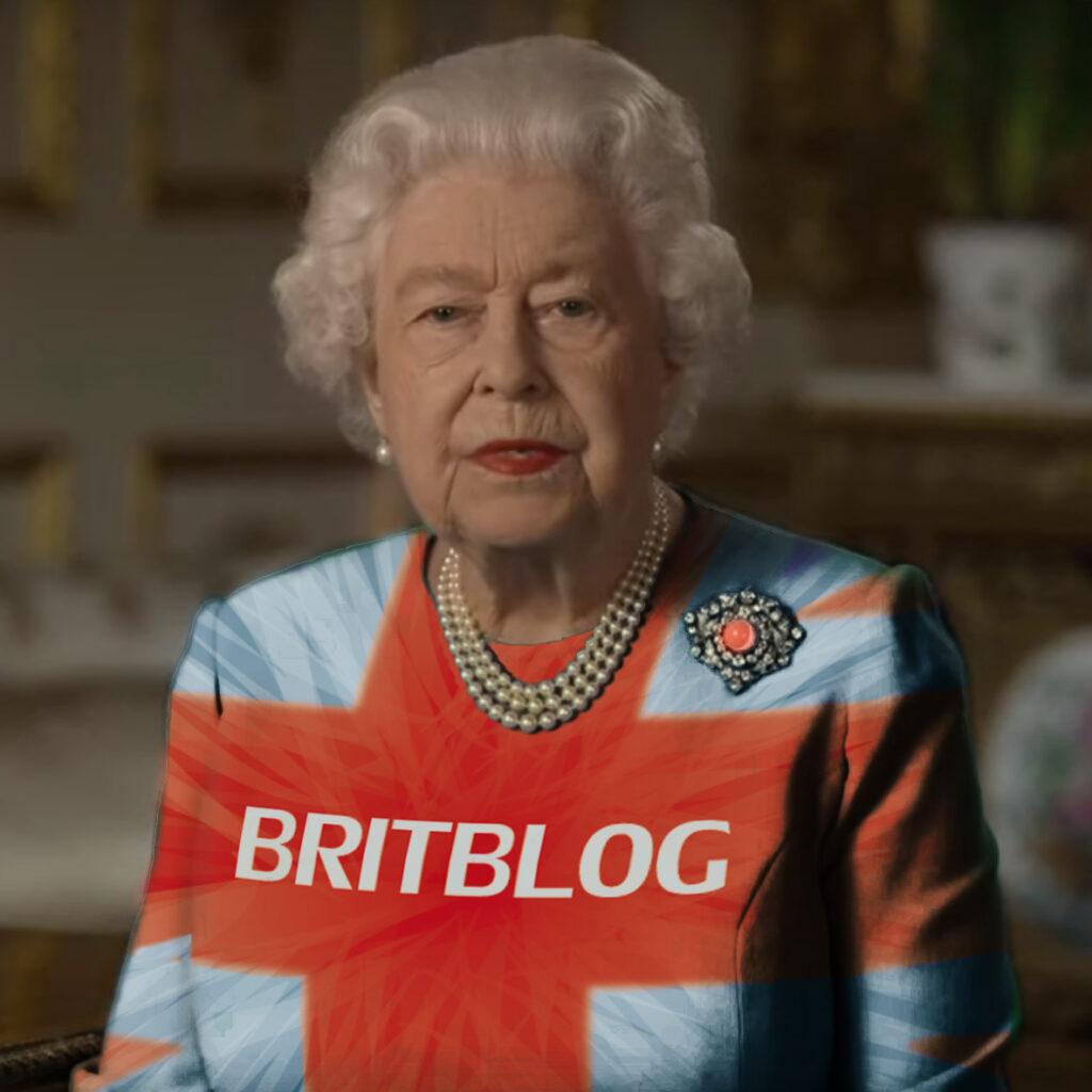 Queen draagt Britblog shirt